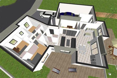 plan chambre 3d plan 3d chambre amazing plan d maison en bois with plan