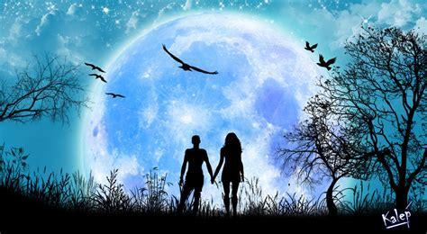 imagenes de paisajes sin texto love under the moon by ikalep on deviantart