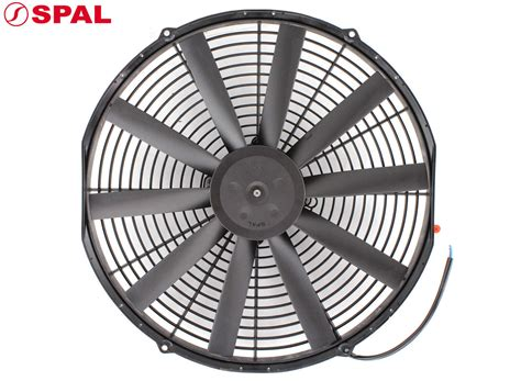 low profile electric radiator fan spal thermo fan 16 quot electric 12v 1920cfm blade