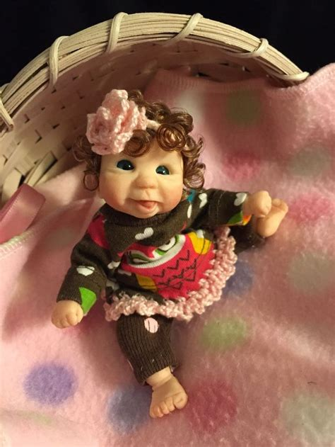 details about 5 quot artist sculpt ooak polymerclay baby by marvel rostar polymers clay and
