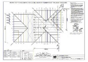 trusses similiar roof plan drawing symbols keywords