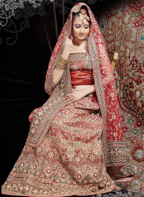 Indian Bridal Dresses:Latest Wedding Wear   Fashion 2013