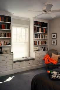 Built In Bookshelves Around Window Need This Is Master Bedroom Built In Shelves And Window