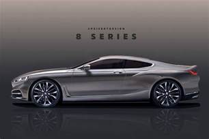 new bmw 8 series rendered based on official teaser 2019