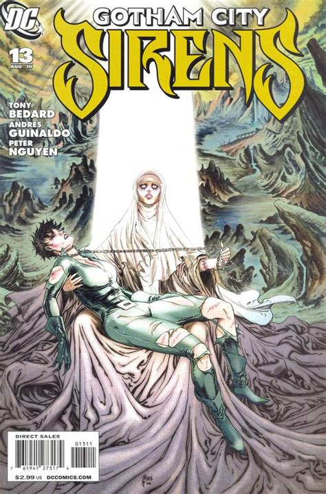 siren in the city sirens book 2 volume 2 books gotham city sirens vol 1 13 dc comics database