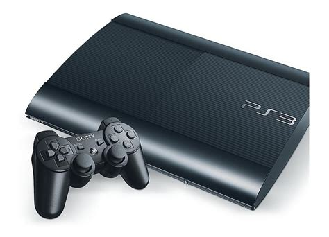 sony ps3 ultra slim 500 console jeux vid 233 o sony ps3 ultra slim 500 go noir d occasion
