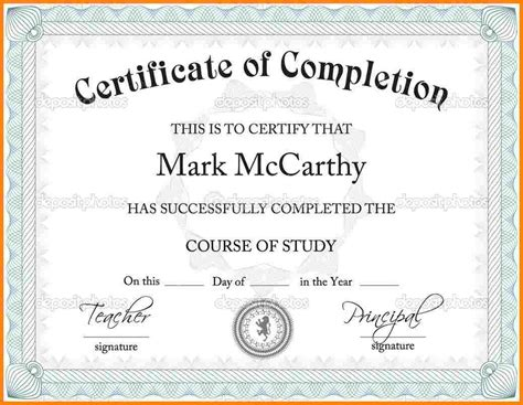certificate diploma template 6 high school diploma template microsoft word sle of