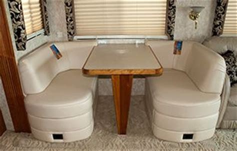 rv dinette booth bed bed and a dinette that folds into a bed images frompo