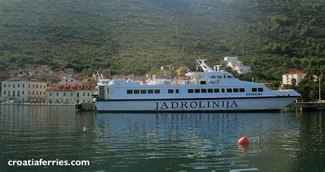 catamaran ferry croatia catamaran ferry karolina jadrolinija croatia ferries