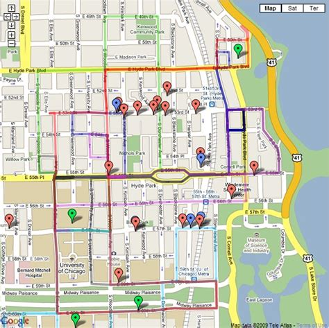 hyde park chicago map map of hyde park chicago pictures to pin on