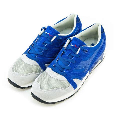 diadora n 9000 blue grey 8 5 d us diadora n9000 nyl quot blue limonges grey alaska quot complex