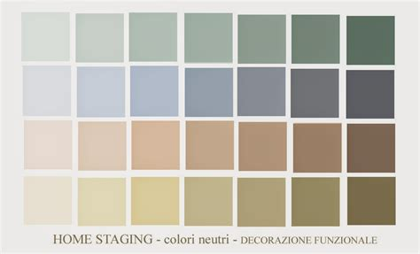 simulazione colori pareti ambientazioni interni home staging colori neutri tinta
