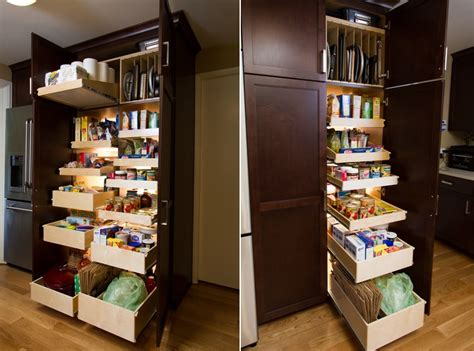 Easy Pantry Shelves by Shelves That Slide To Make Storage Fast And Easy