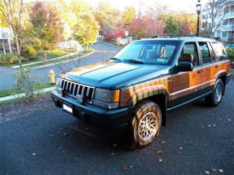 1993 Jeep Grand Wagoneer Buy Used 1993 Jeep Grand Wagoneer 5 2l Mpi V8 In