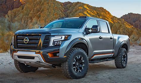 nissan truck 2018 2018 nissan titan warrior could end raptor s dominance