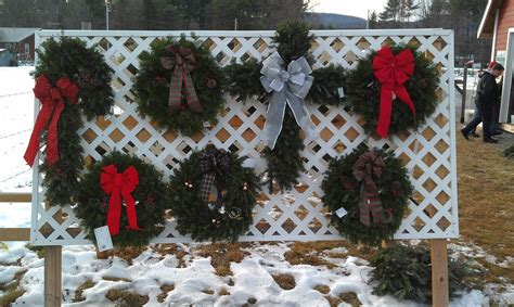 wreaths river bend christmas tree farm