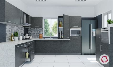 Kitchen Designs Small Space by 12 Gorgeous Grey Kitchens For Indian Homes