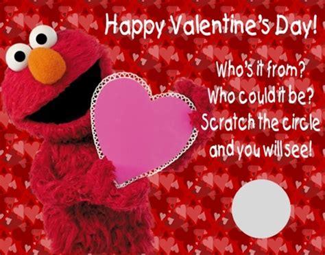 elmo valentines sesame elmo s day scratch