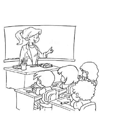 imagenes de maestra dibujos por el dia del maestro profesor para colorear