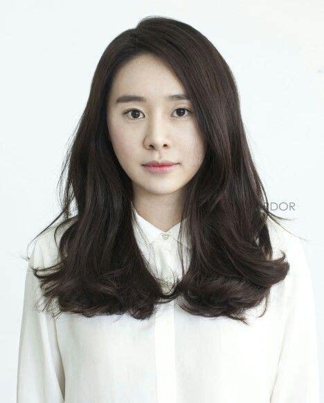 Korean Perm Women | korean wave bold c perm hair style wave cut straight
