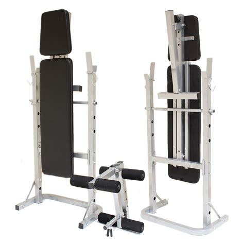 fold away weights bench sale folding weight bench exercise lift lifting chest