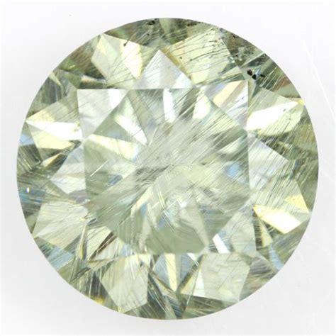 moissanite colors moissanite 3 69 ct light green color i2 clarity