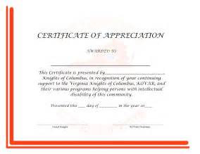 Certificate Appreciation Template Word by Doc 33002550 Free Appreciation Certificate Templates For
