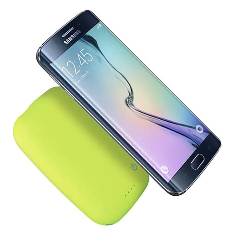 Power Bank Wireless Charger qi wireless charger power bank 4000mah green
