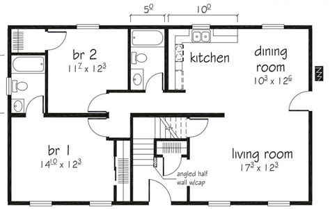 mount vernon floor plan mount vernon i 1144 square foot cape floor plan
