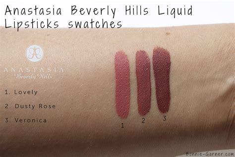 anastasia beverly hills liquid lipstick in crush swatches anastasia beverly hills liquid lipsticks my review