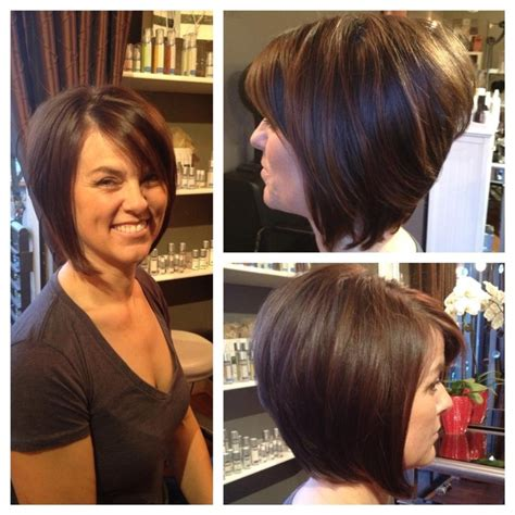 cutes aline hair a line bob by stylist leah villagran hair by leah