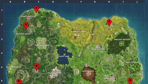 where fortnite cameras fortnite week 2 where to find cameras search