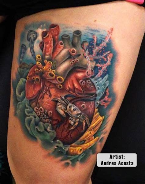 3d heart tattoos designs 17 best images about best 3d tattoos in the world on