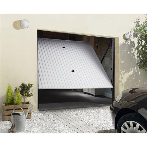 porte de garage basculante manuelle h 200 x l 240 cm