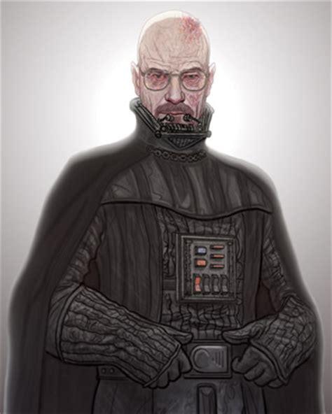 Casing One Plus 5 Vader Typography Custom darth heisenberg wars and breaking bad mashup