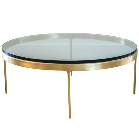 Solid Coffee Table Solid Brass Coffee Table By Nicos Zographos At 1stdibs
