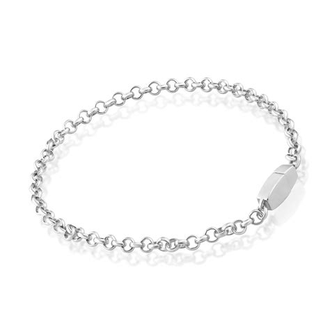 Chain Anklet sterling silver chain anklet eternity
