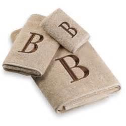 buy monogrammed bath towels from bed bath beyond