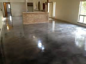 Staining Concrete Floors After Carpet » Home Design 2017
