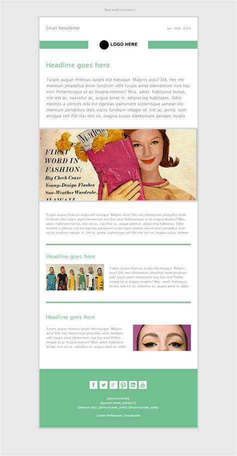 82 best fashion email newsletters images on email newsletters email newsletter 56 best beautiful email newsletters images on email fashion newsletter templates