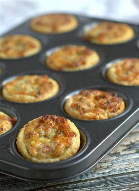 canape recipes to freeze mini ham and edam cheese quiches recipe hams minis