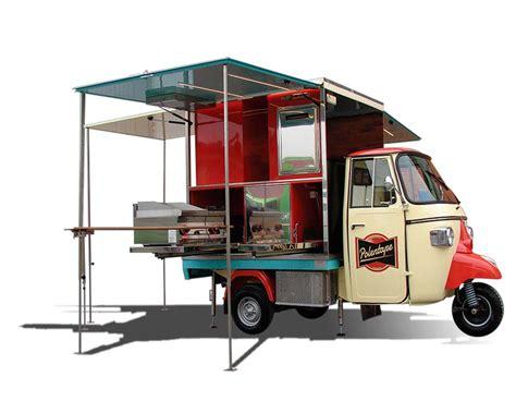 piaggio ape car lunch truck polentape