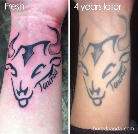 aged tattoos thinking of getting a these 10 pics reveal how