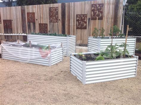 Colorbond Planter Boxes by 2 X Greenhouse Colorbond Diy Raised Planter Box Garden Bed