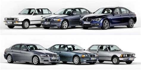 Bmw Six Series by The Bmw 3 Series Six Generations Four Decades