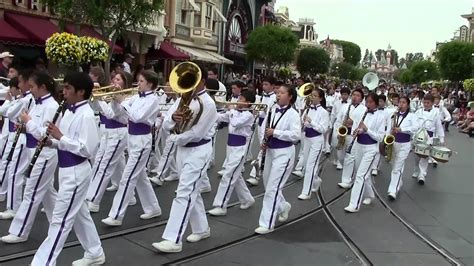 devour keep marching official music lms marching band disneyland main street parade youtube