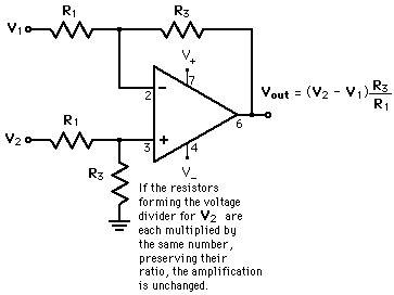 integrated circuit differential lifier op varieties