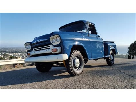 chevrolet apache 1958 1958 chevrolet apache for sale on classiccars 9