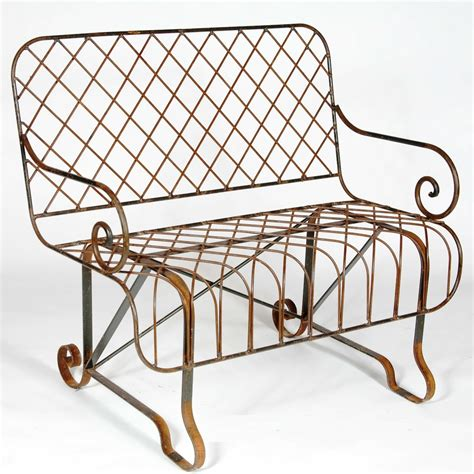 wrought iron benches wrought iron front porch bench metal park seating