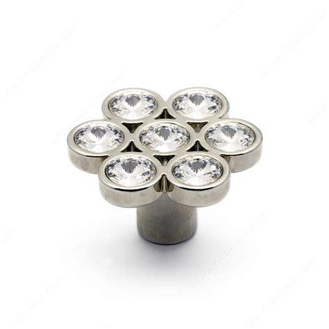 swarovski cabinet knobs contemporary swarovski metal knob 3077